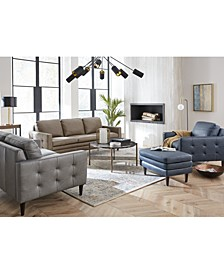 Locasta Leather Sofa Collection, Created for Macy's