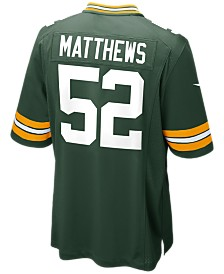 Nike Men's Clay Matthews Green Bay Packers Game Jersey