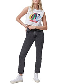 Cotton Love Cropped T-Shirt