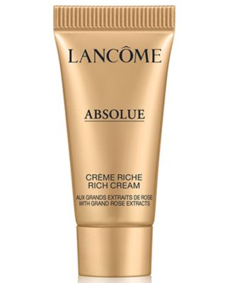 Choose a FREE deluxe skincare sample with any $100 Lancôme Purchase