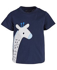 Baby Boys Giraffe Cotton T-Shirt, Created for Macy's