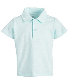 Baby Boys Solid Cotton Polo, Created for Macy's