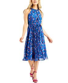 INC Floral-Print Midi Dress, Created for Macy's