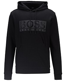 BOSS Men's Soody Diamond Hooded Sweatshirt