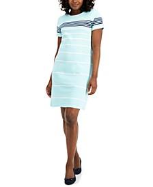 Shine Stripe Dress, Created for Macy's