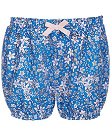 Toddler Girls Floral-Print Bloomer Shorts, Created for Macy's