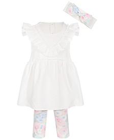 Toddler Girls Ponte Tunic & Leggings Set, Created for Macy's