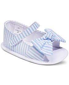 Baby Girls Seersucker Sandals, Created for Macy's