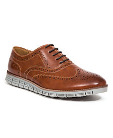 DEER STAGS Men's Benton Classic Dress Casual Lace-Up Brogue Shoes