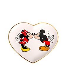 Mickey & Minnie Heart Trinket Dish