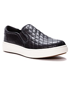 Women's Karly Slip-On Leather Sneakers
