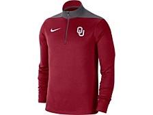 Oklahoma Sooners Men's Colorblock Fan Fav Dri Quarter Zip Pullover