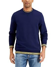 Men's Colorblock Crew Sweatshirt, Created for Macy's