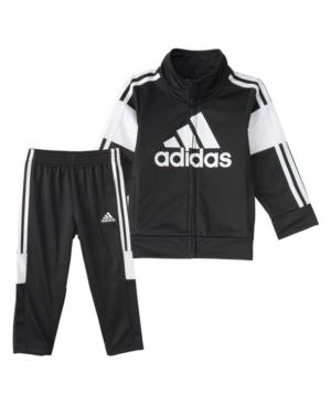 Adidas Originals TODDLER BOYS ZIP FRONT BOLD PACK JACKET AND PANT SET
