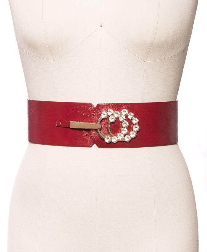 INC International Concepts - Embellished Stretch Belt