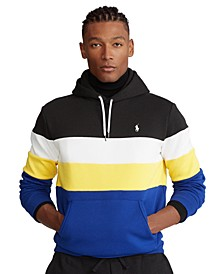 Men's Colorblocked Double-Knit Hoodie