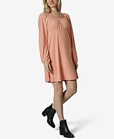 Juniors' Emma Scoop-Neck Dress