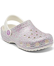 Toddler Classic Glitter Clogs from Finish Line
