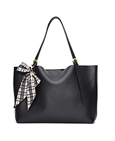 Leather Posen Tote