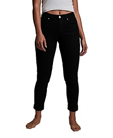 Petite Stretch Mom Jeans
