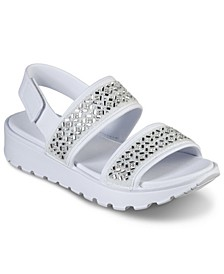 Women's Cali Gear Footsteps - Glam Party Sandals from Finish Line