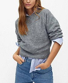 Women's Long Raglan Sleeve Sweater