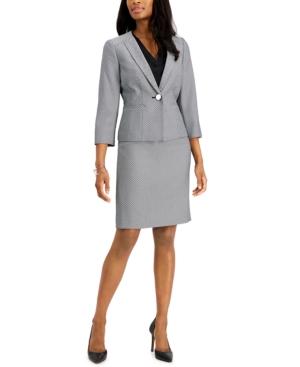 Le Suit Skirts JACQUARD SKIRT SUIT
