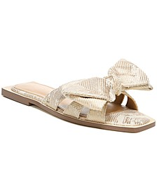 Women's Idalis Bow-Tie Slide Sandals