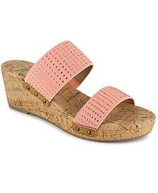 Women's Janie Wedge Slide Sandal