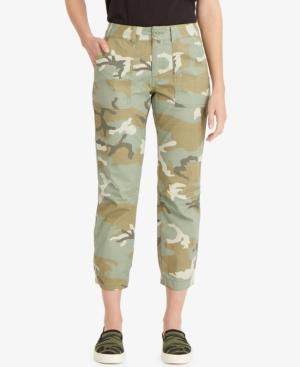 Sanctuary Pants FORMATION REXMIX CAMO-PRINT PANTS