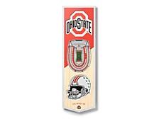 Ohio State Buckeyes 3D StadiumView Banner
