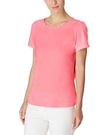 Scalloped Top