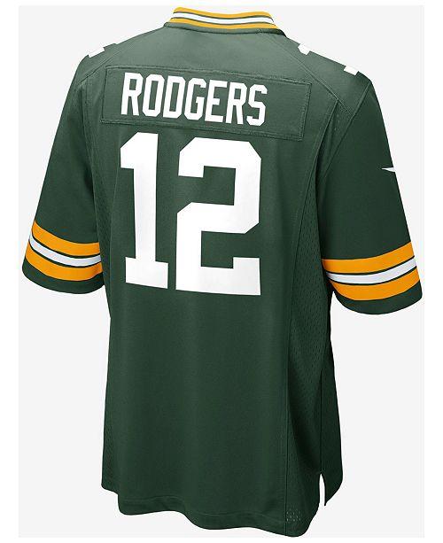Nike Kids' Green Bay Packers Aaron Rodgers Jersey, Big Boys (8-20)
