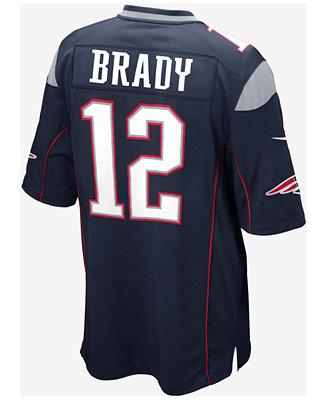 5660c73c Nike Kids' New England Patriots Tom Brady Jersey, Big Boys (8-20) & Reviews  - Sports Fan Shop By Lids - Men - Macy's