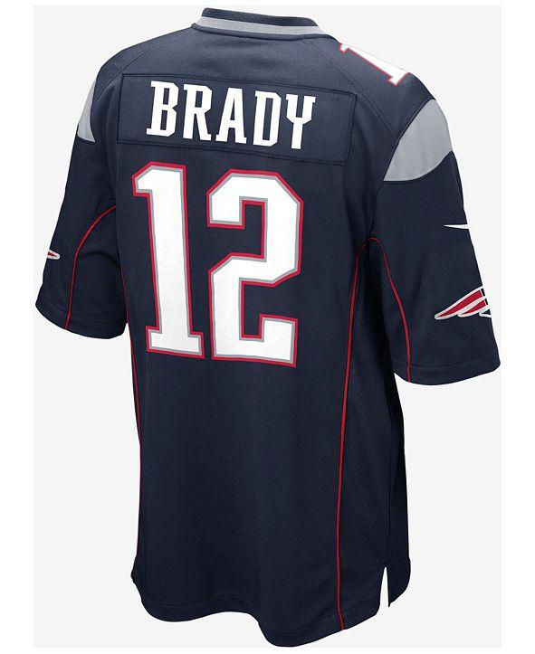 Nike Kids' New England Patriots Tom Brady Jersey, Big Boys (8-20)