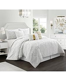 Corina Comforter Set, King, 7-Piece