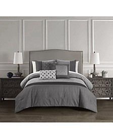 Imani 6 Piece Comforter Set, Queen
