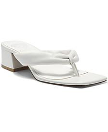 Women's Sabrina Block-Heel Thong Sandals