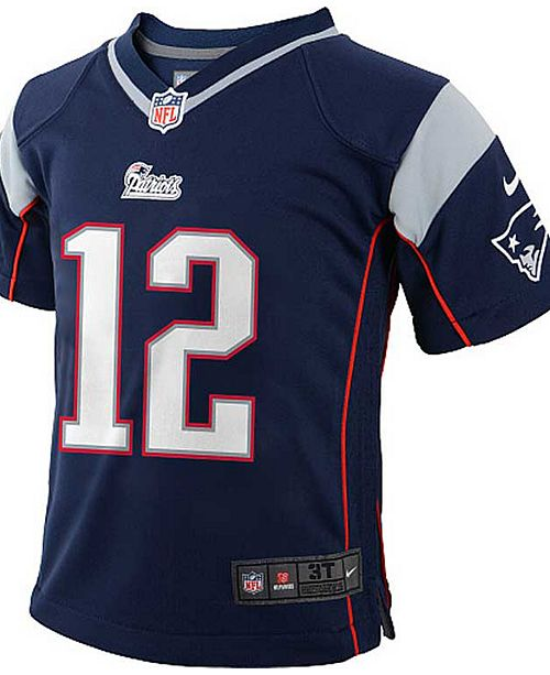 new styles 37b15 dd610 Baby Tom Brady New England Patriots Game Jersey