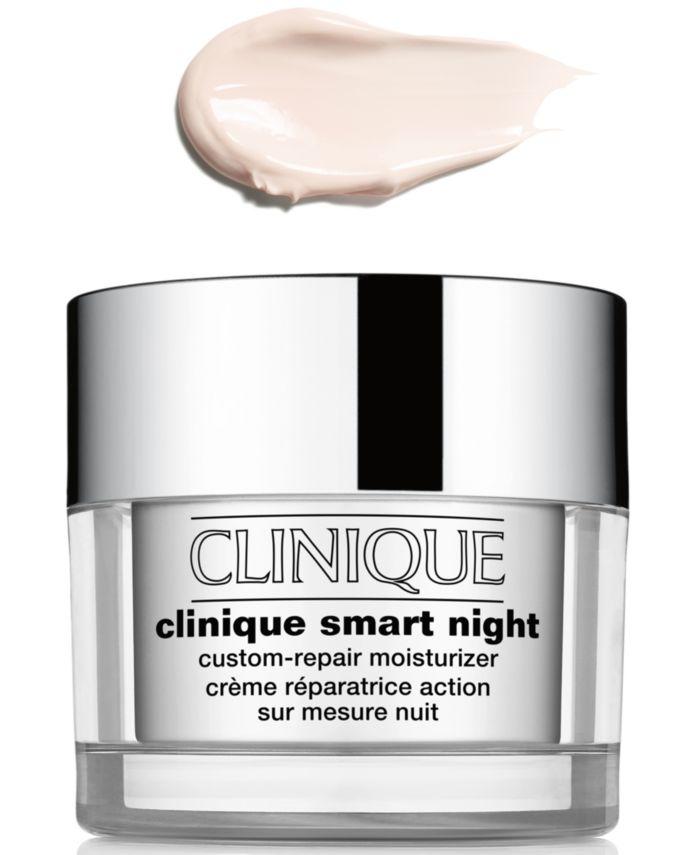 Clinique Smart Night Custom-Repair Moisturizer - Very Dry, 1.7 oz & Reviews - Skin Care - Beauty - Macy's