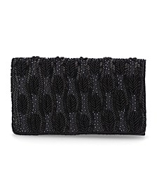 Beaded Flap Clutch, Created for Macy's