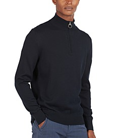 Men's Half-Zip Knit Sweater