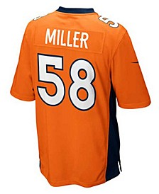 Kids' Von Miller Denver Broncos Game Jersey, Big Boys (8-20)