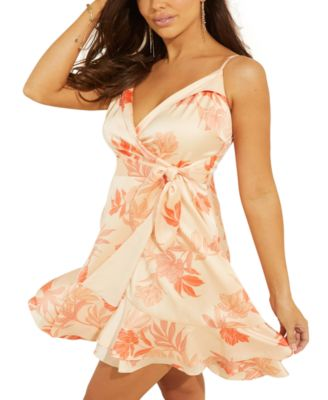Margo Floral-Print Wrap Dress