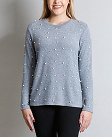 Women's Cozy Long Sleeves Crew Top