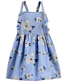 Toddler Girls Daisy Linen Dress