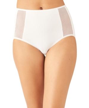 Wacoal Women's Keep Your Cool Daywear Brief Underwear In White