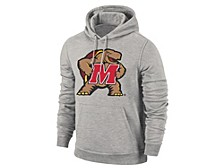 Maryland Terrapins Men's Big Logo Screenprint Hooded Sweatshirt
