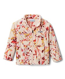 Little and Big Girls Benton Springs II Printed Fleece Jacket