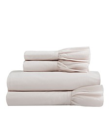Soft Wash Vintage Ruffles Sheet Set, Twin